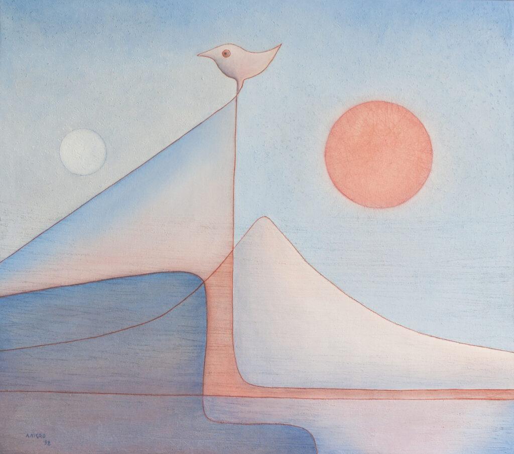 Paesaggio al tramonto, 1992